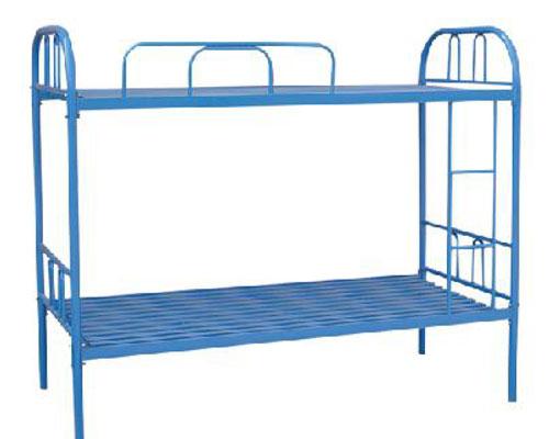 双人铁架床