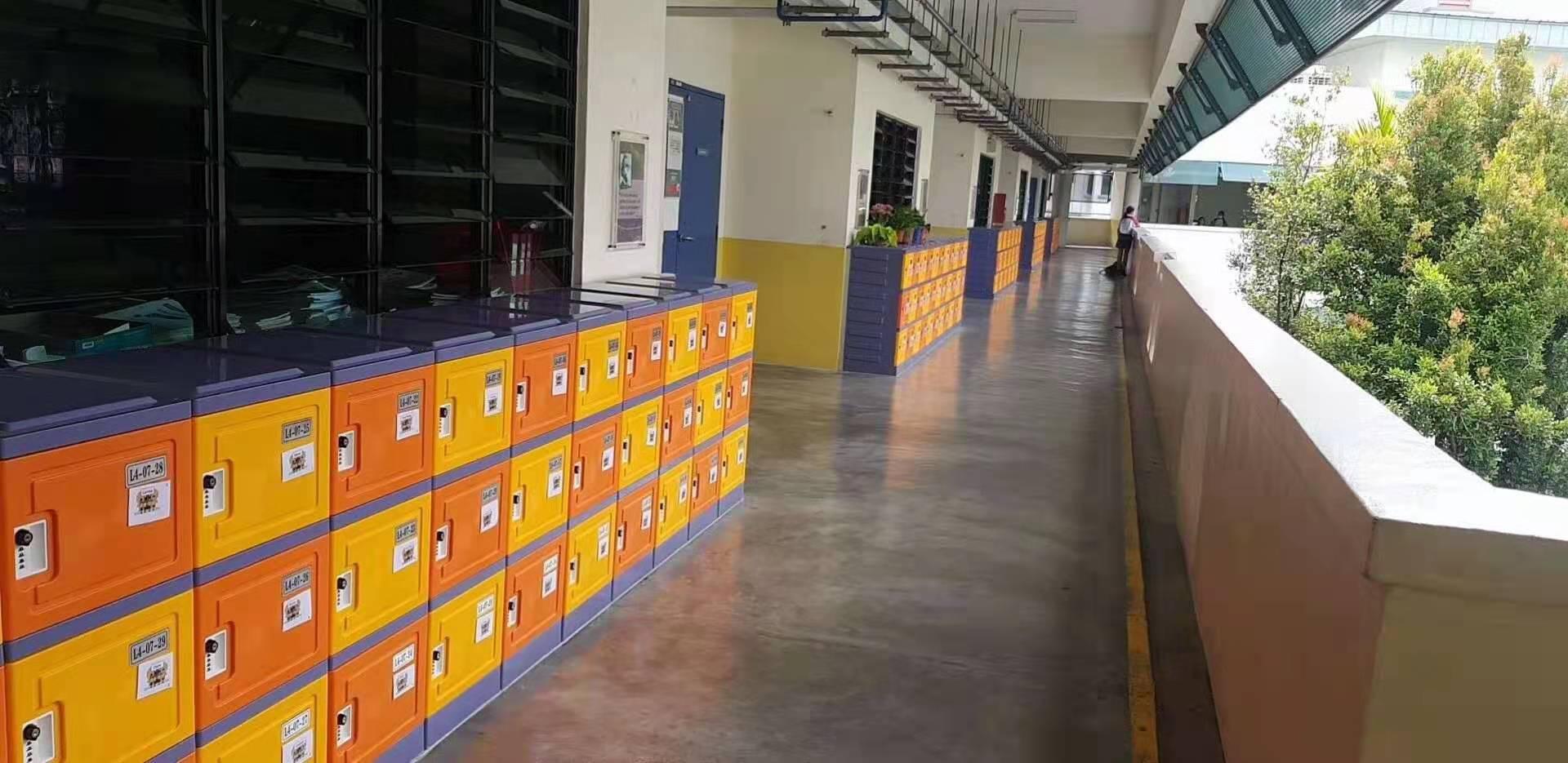 山东青岛市学校采购一批学生书包柜项目